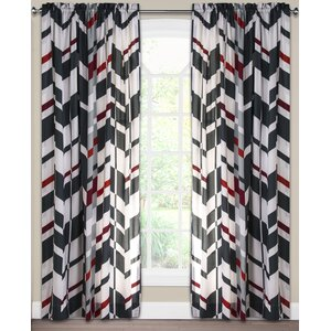 Valor Rod Pocket Single Curtain Panel