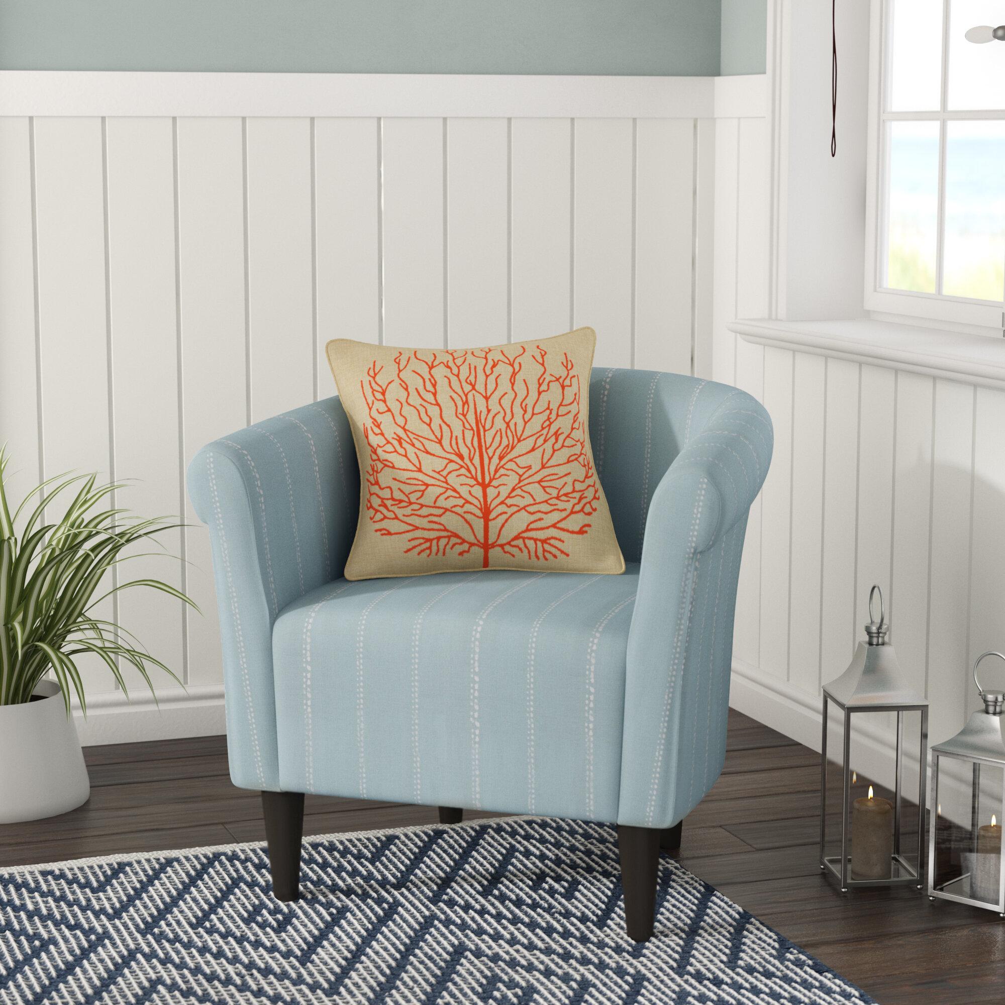 Highland Dunes Ashberry Barrel Chair & Reviews | Wayfair