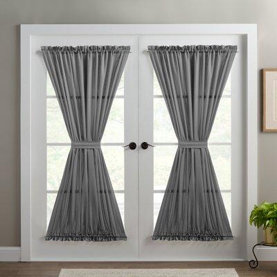 French Door Panel Curtains Wayfair