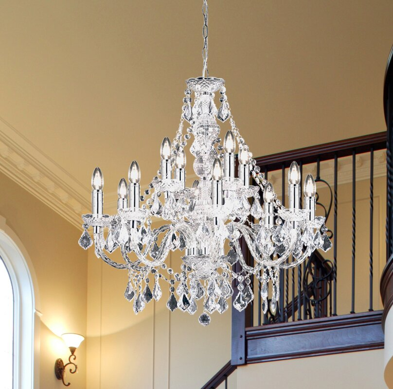 Endon lighting classy candle style chandelier reviews wayfair classy candle style chandelier aloadofball Gallery