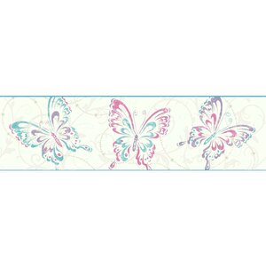 Growing Up Kids Butterfly/Scroll Removable 0.56' x 1.5
