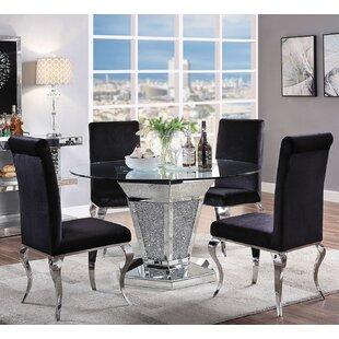 Georgianna Upholstered 5 Piece Dining Set