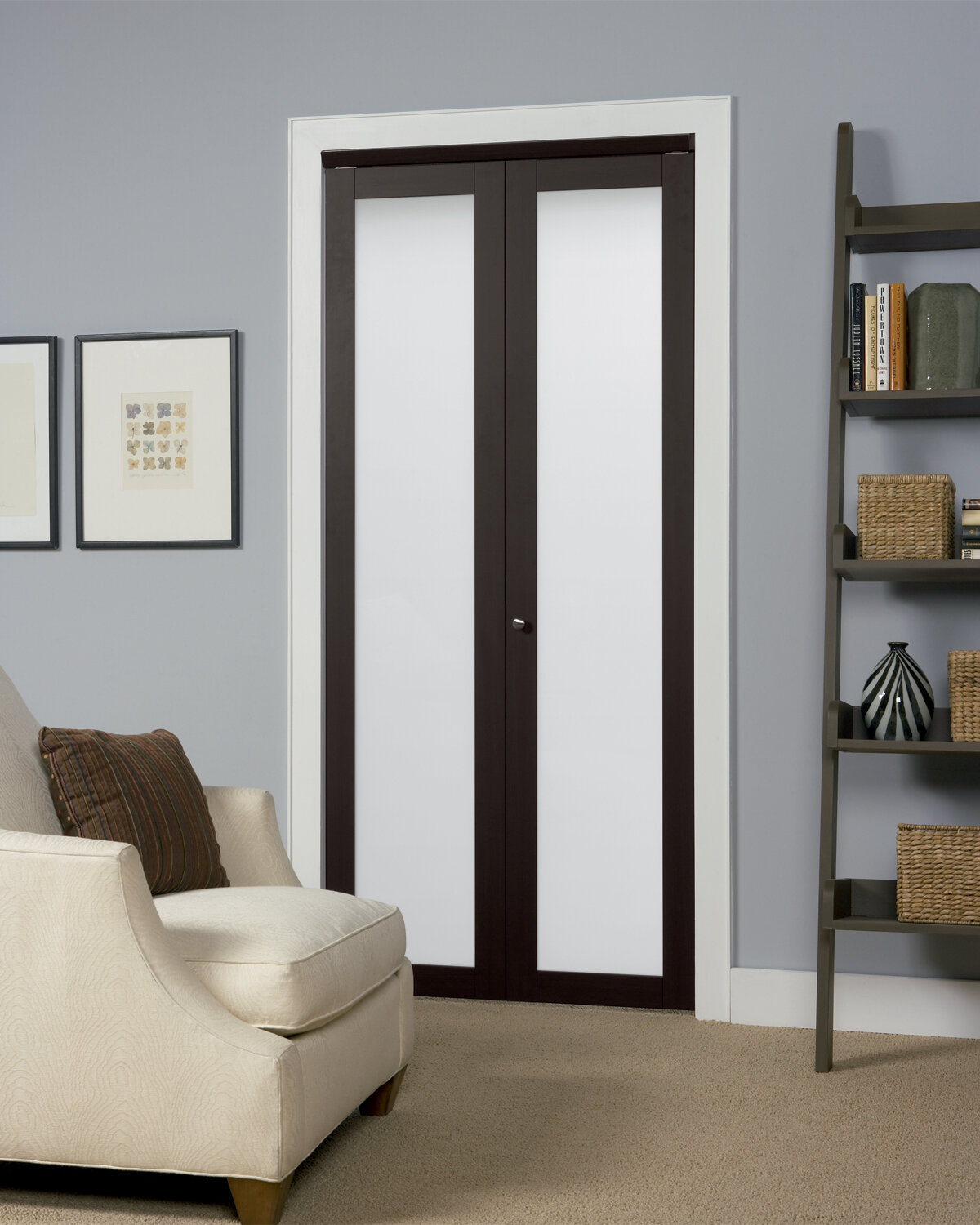 Erias Home Designs Wood Baldarassario Bi Fold Doors With Hardware
