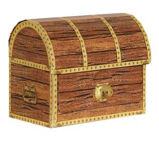 4 Piece Pirate Treasure Chest Favor Decorative Box