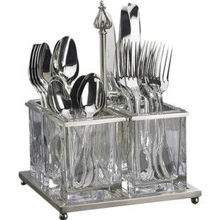 Somerset Flatware Caddy  sc 1 st  Wayfair & Flatware Caddies You\u0027ll Love | Wayfair