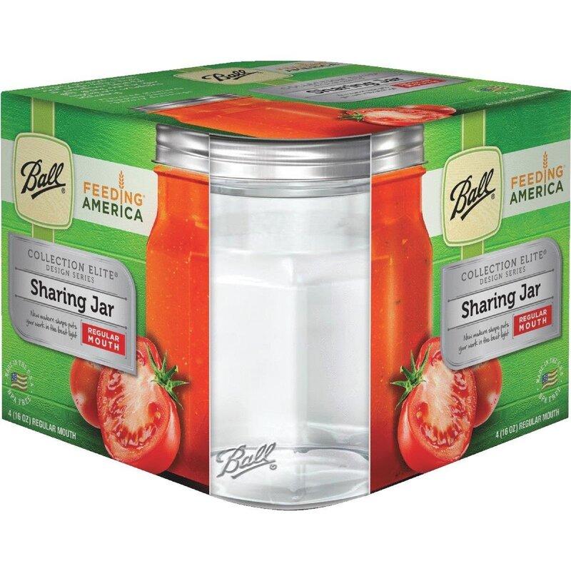 Ball Elite Regular Mouth Pint Sharing 16 qt. Canning Jar