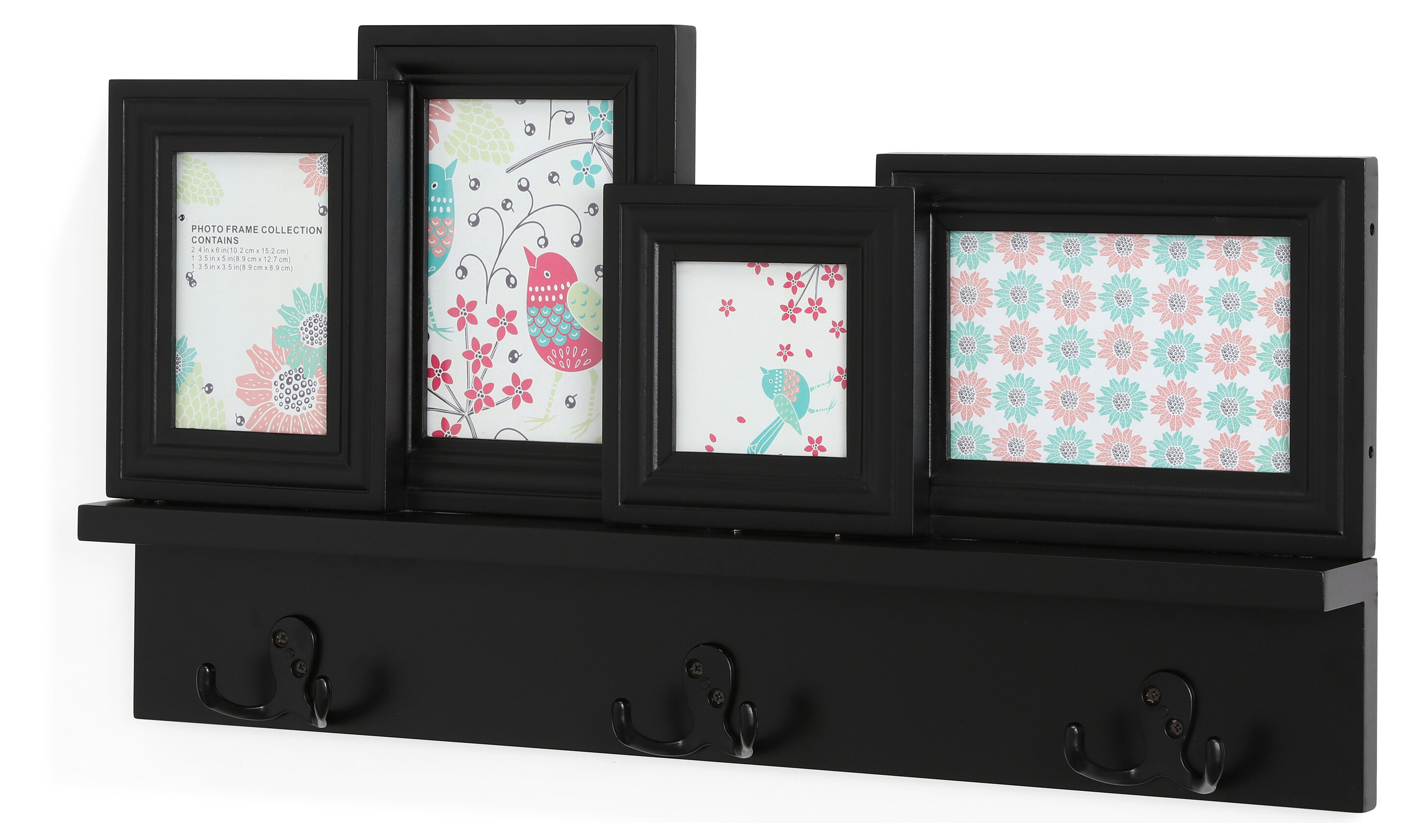 Picture Frame With Coat Rack Wayfairca