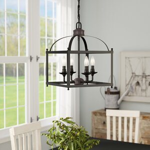 cleona 4light foyer pendant