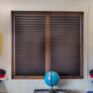 Paper Room Darkening Pleated Shade (Set of 4)