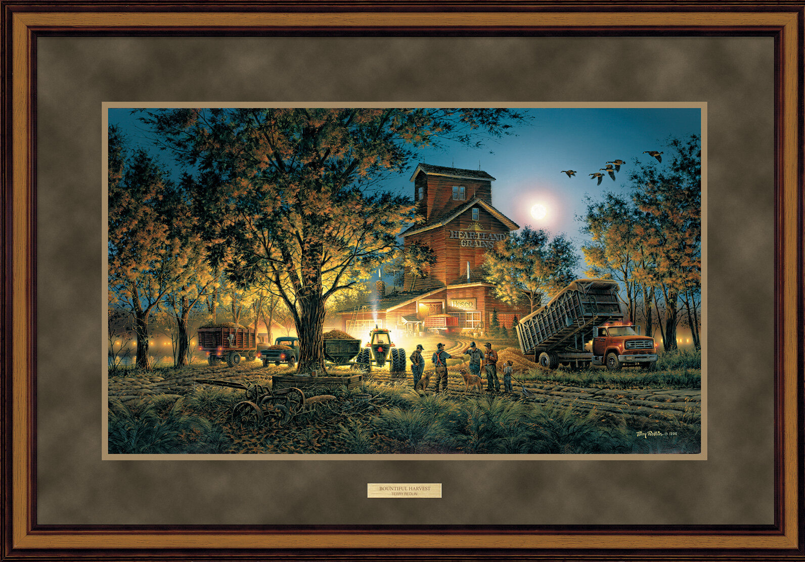 WildWings Bountiful Harvest by Terry Redlin Framed Painting Print ...