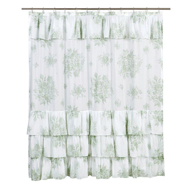 Amaranth Cotton Shower Curtain