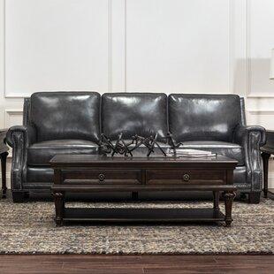 Two Tone Leather Sofa Wayfair