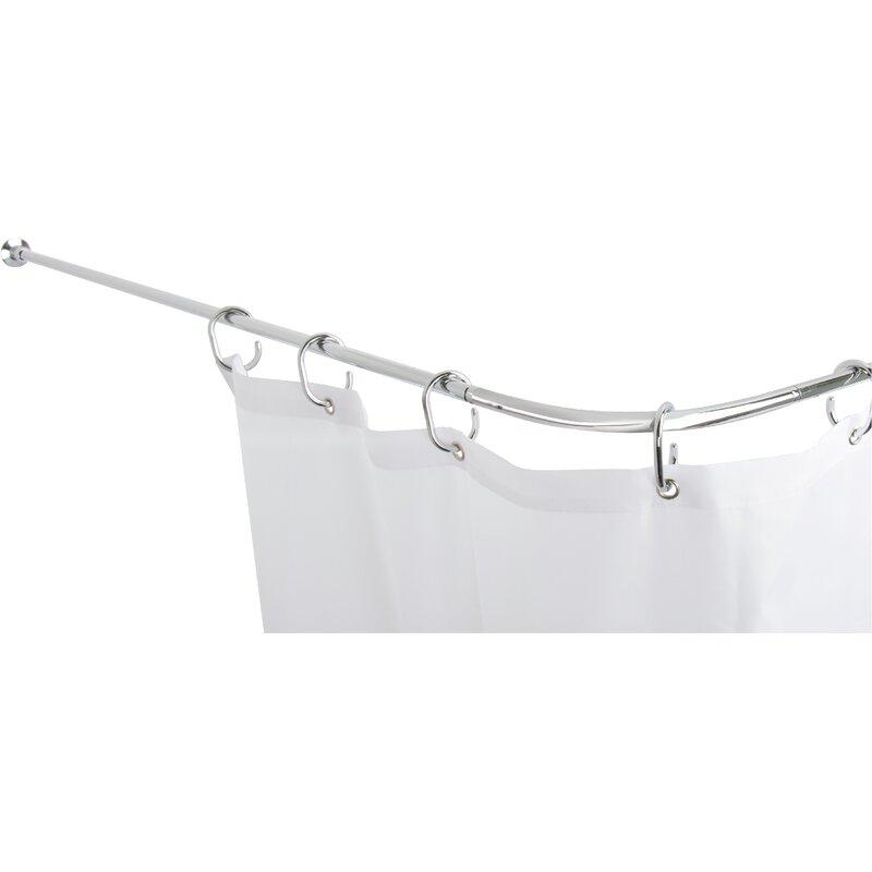 Belfry Bathroom Fineline 252cm Adjustable Curved Fixed