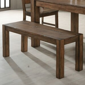 Scriba Wood Bench by Simmons Casegoods by Loon Peak