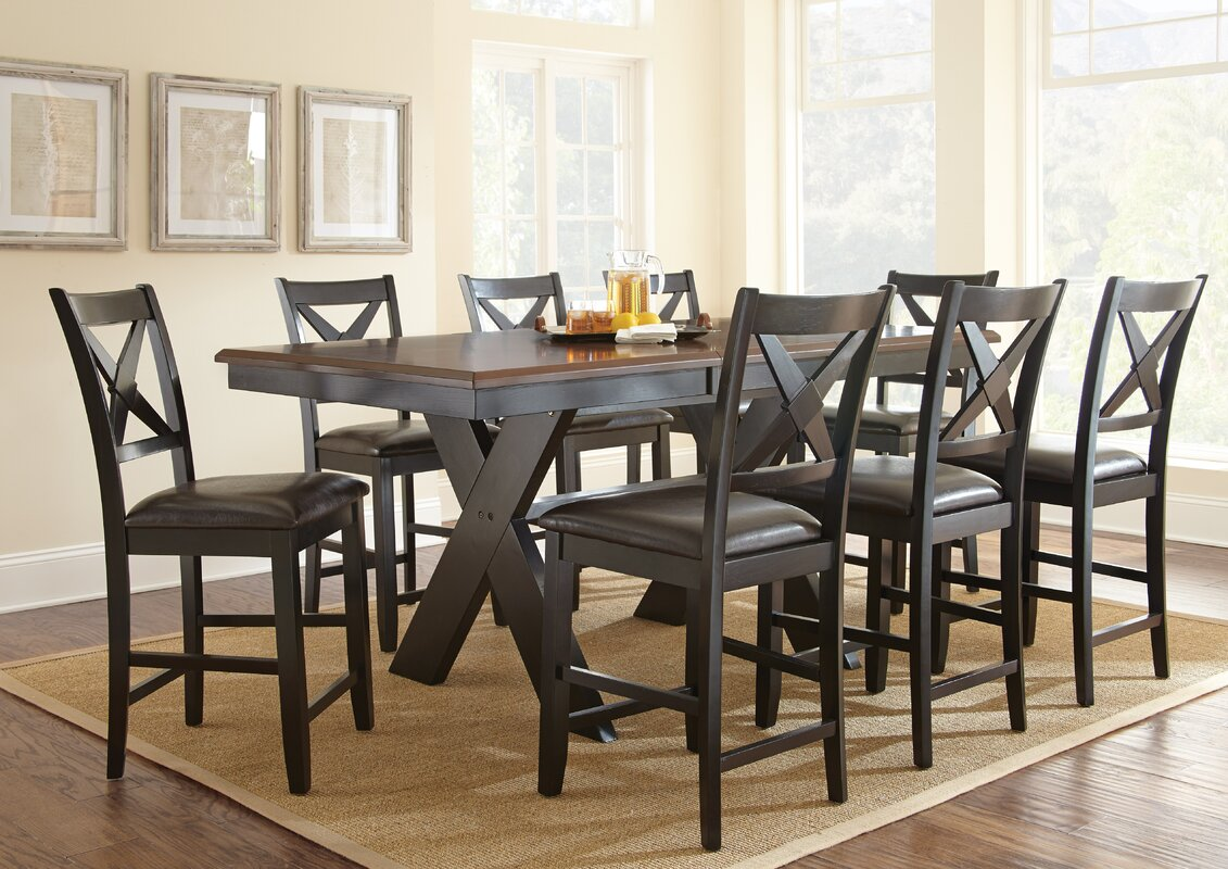 dining room table height home design 9 piece dining sets youu0027ll love wayfair