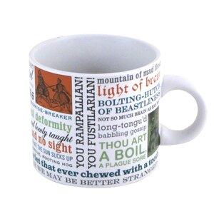 Literary Insults Shakespeare Mug