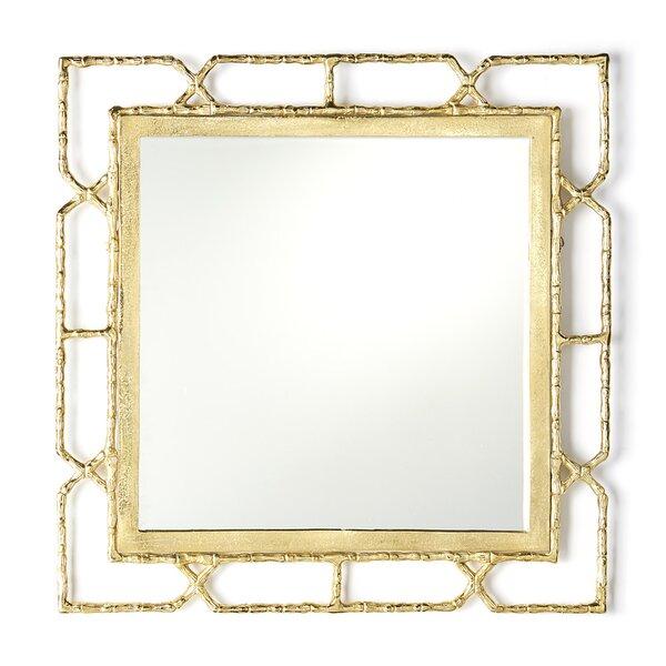 Modern & Contemporary Gold Frame Mirror | AllModern
