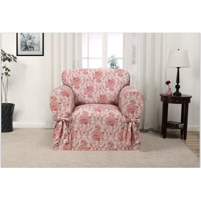 Red Barrel Studio Relaxed Fit Twill T-Cushion 3 Piece Slipcover Set ...
