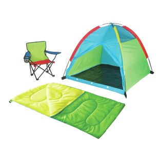 Child Camping Kit Play Tent with Carrying Bag