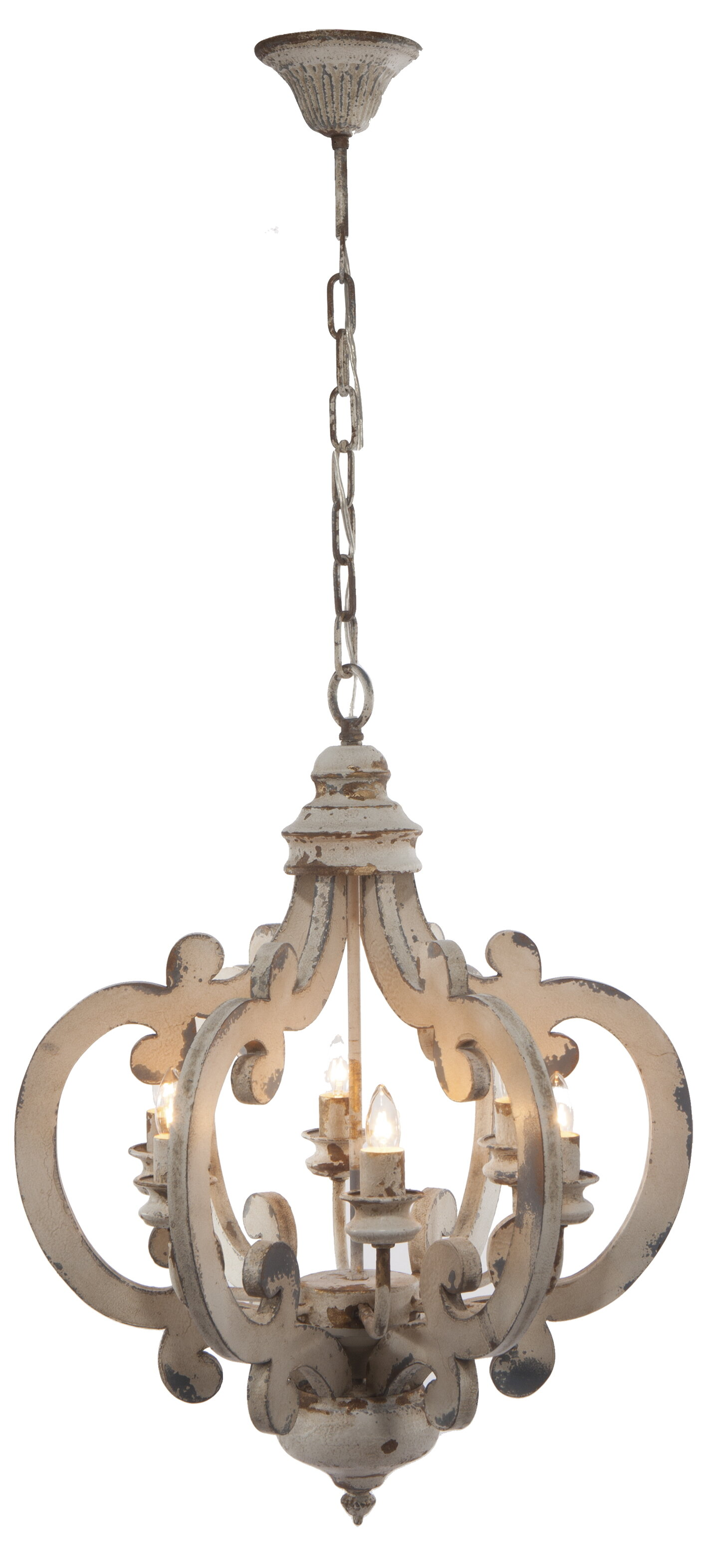 Lammers 6 Light Candle Style Chandelier & Reviews