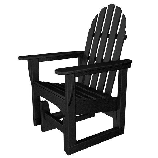 POLYWOOD® Gliding Plastic Adirondack Chair U0026 Reviews | Wayfair