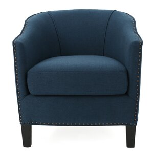 Ahearn Barrel Chair by Fleur De Lis Living