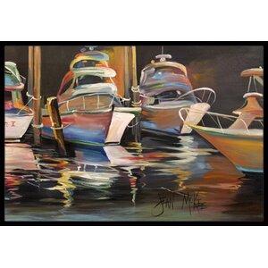 Chase Deep Sea Fishing Boats Doormat