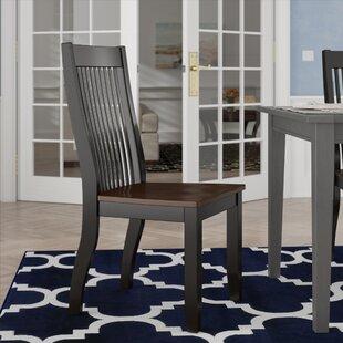 Chokio Solid Wood Dining Chair (Set of 2)