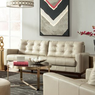 Taupe Leather Loveseat Wayfair