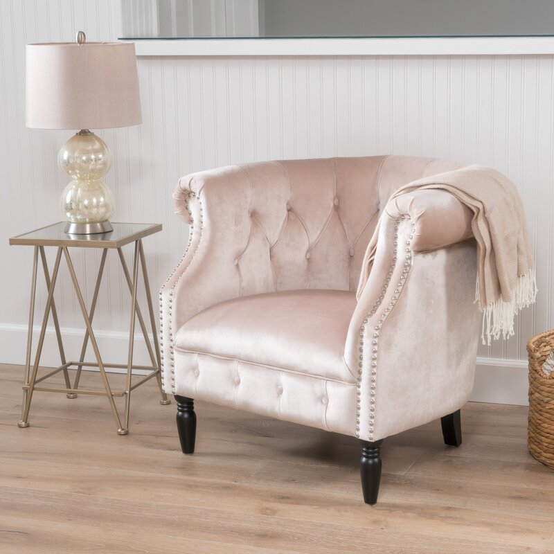 Lenita Chesterfield Green Velvet Accent Chair: House Of Hampton Lenita Chesterfield Chair & Reviews