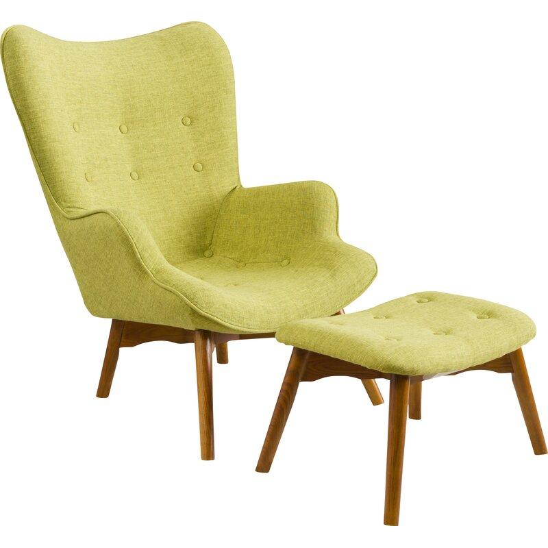 Langley Street Canyon Vista Lounge Chair And Ottoman