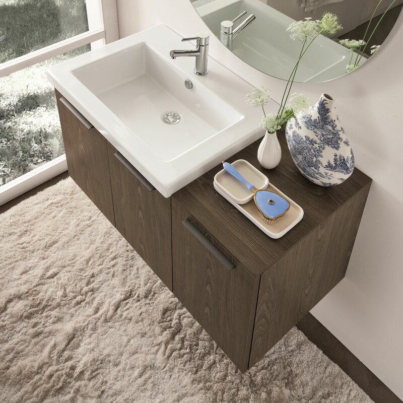 Welcher 42 Single Modern Bathroom Vanity Set