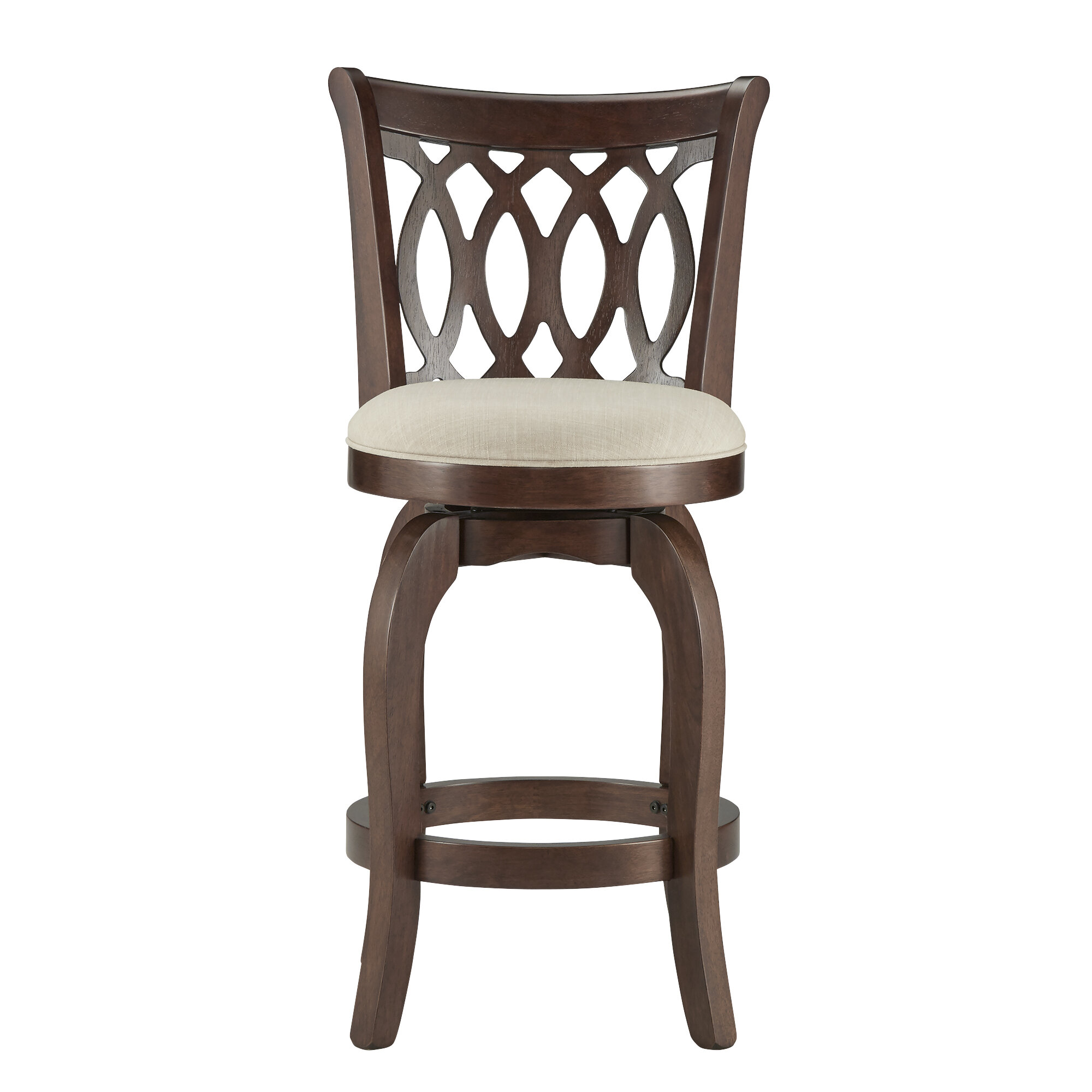Three Posts Heartwood 24 Swivel Bar Stool Reviews Wayfair