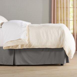 Charcoal Bed Skirt | Wayfair