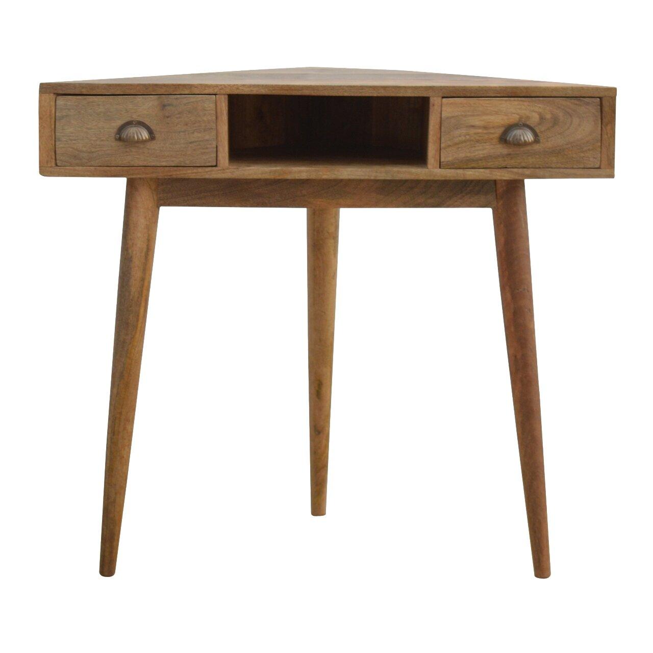 Wondrous Corner Solid Wood Desk Download Free Architecture Designs Embacsunscenecom