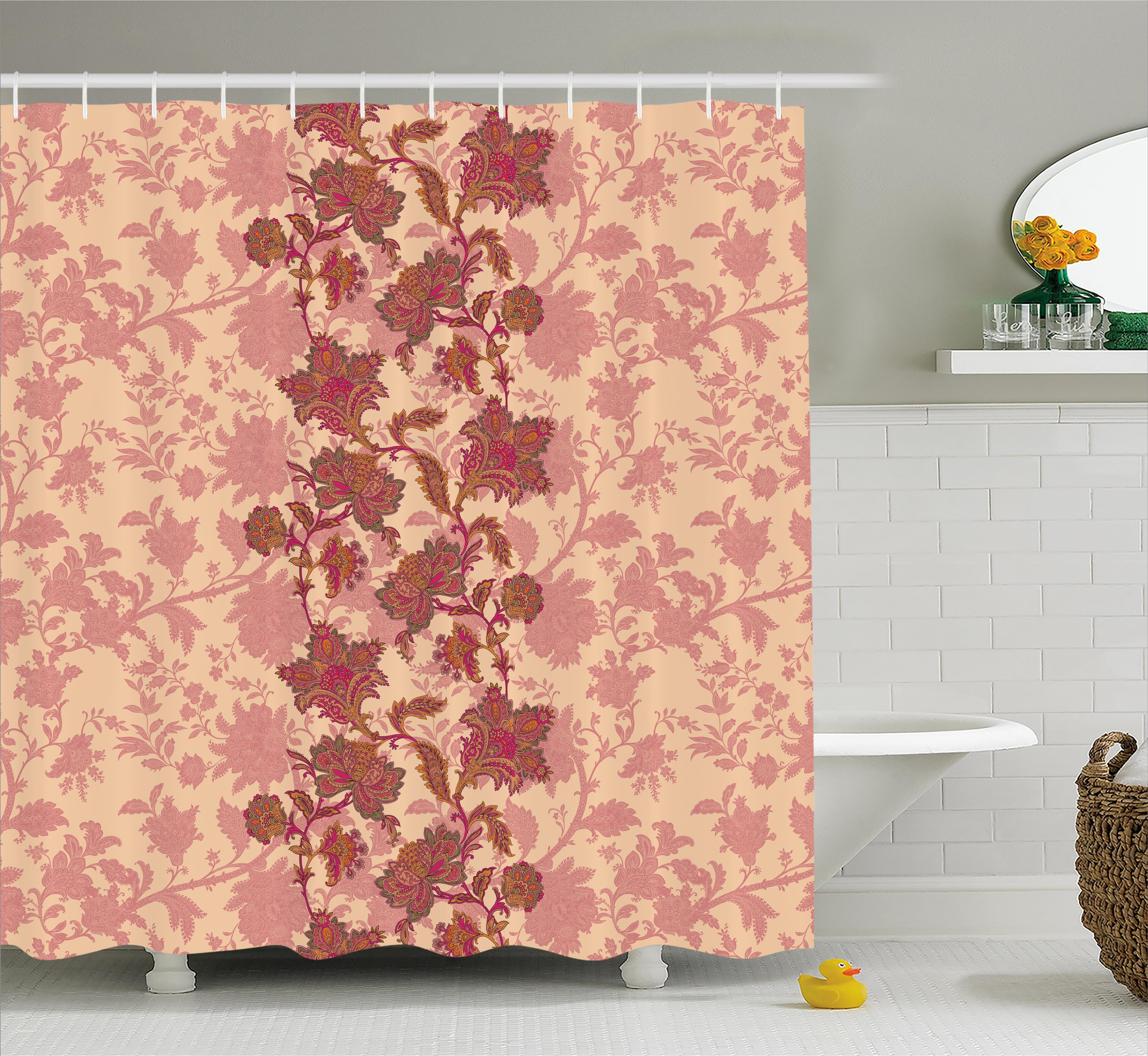 Bloomsbury Market Armando Vibrant Colored Pattern Shower Curtain ...