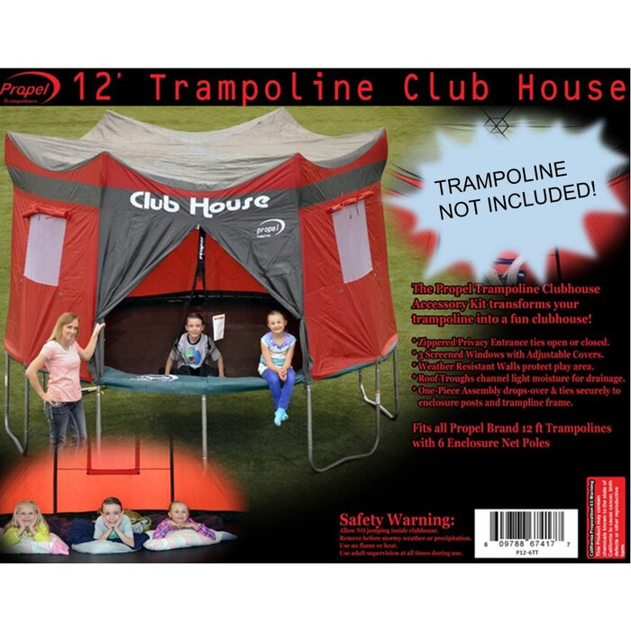 12u0027 Tr&oline Club House  sc 1 st  Wayfair & Propel Trampolines 12u0027 Trampoline Club House u0026 Reviews | Wayfair.ca