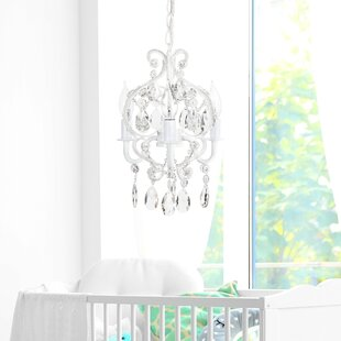 Alida 3 Light Candle Style Chandelier