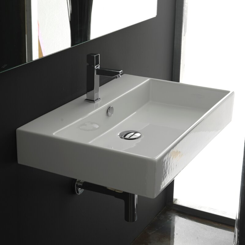 Ws Bath Collections Ceramica Ii Unlimited Ceramic 24 Wall Mount