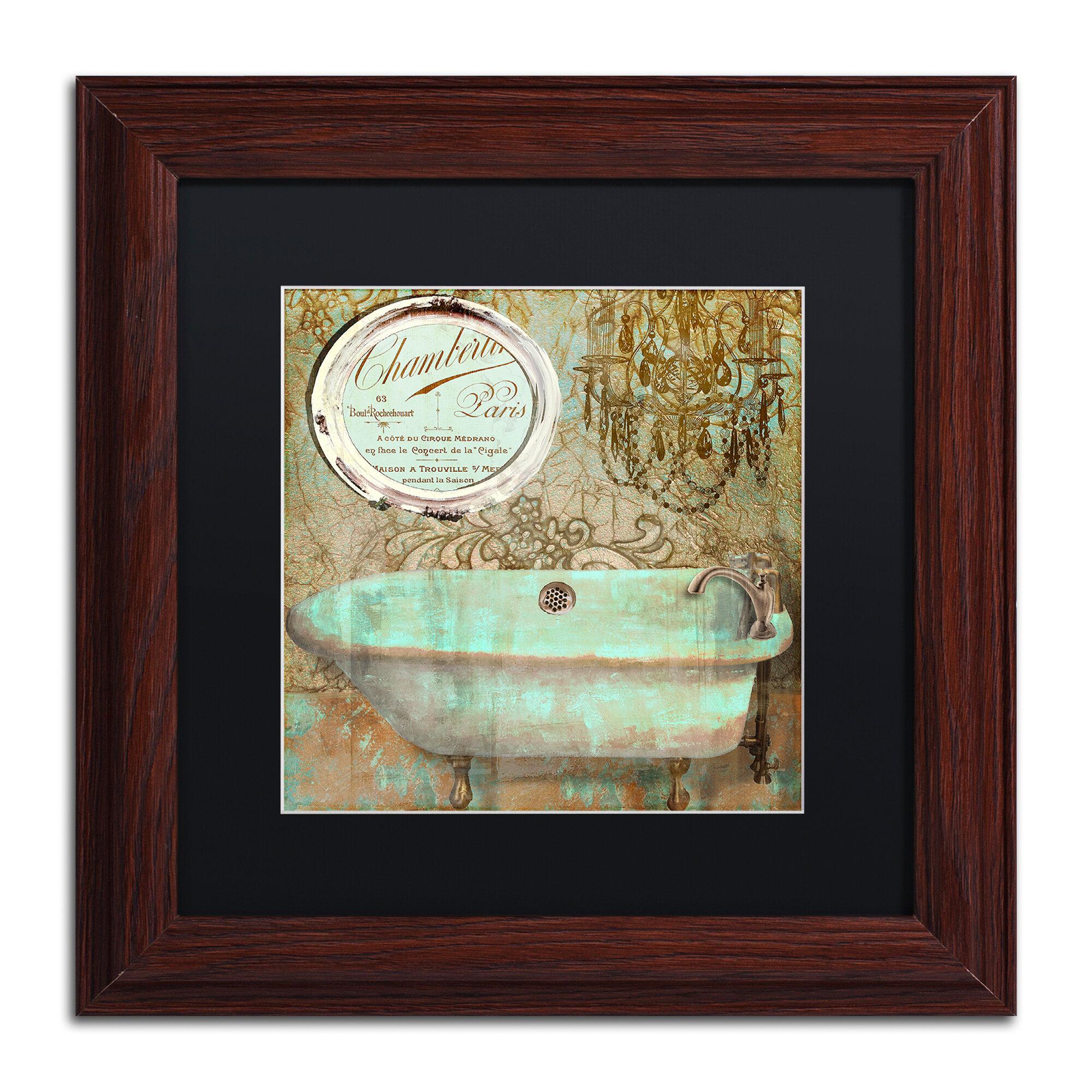 Salle De Bain Idea Group ~ trademark art salle de bain iv by color bakery framed graphic art