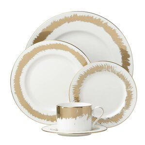casual radiance bone china 5 piece place setting service for 1