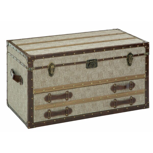 Bay Isle Home Belgrade Single Drawer Storage Trunk