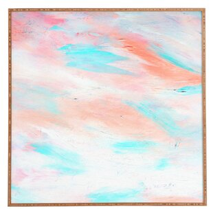 Coral Abstract Framed Wall Art