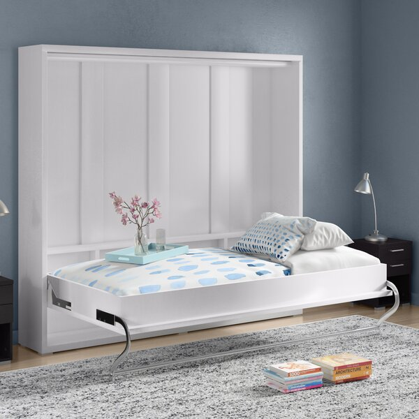 Brayden Studio Van Wyck Murphy Bed With Mattress Amp Reviews