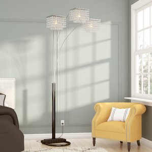 Anatoli 84  Arched Tree Floor LampFloor Lamps You ll Love   Wayfair. Floor Lamps In Living Room. Home Design Ideas