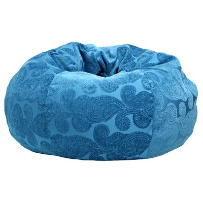 Morocco Peacock Bean Bag Chair