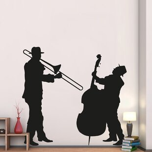 Home Decor Line Jazz Duo Wall Decal