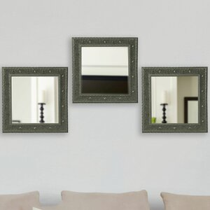 Square Wall Mirror (Set of 3)
