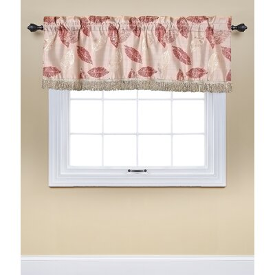 Soto 60 Window Valance Alcott Hill Color: Pink
