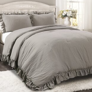 Gray Silver King Size Comforters Sets Youll Love In 2019 Wayfair